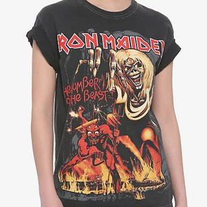 Hot Topic Iron Maiden Oversize Album Cover T-shirt